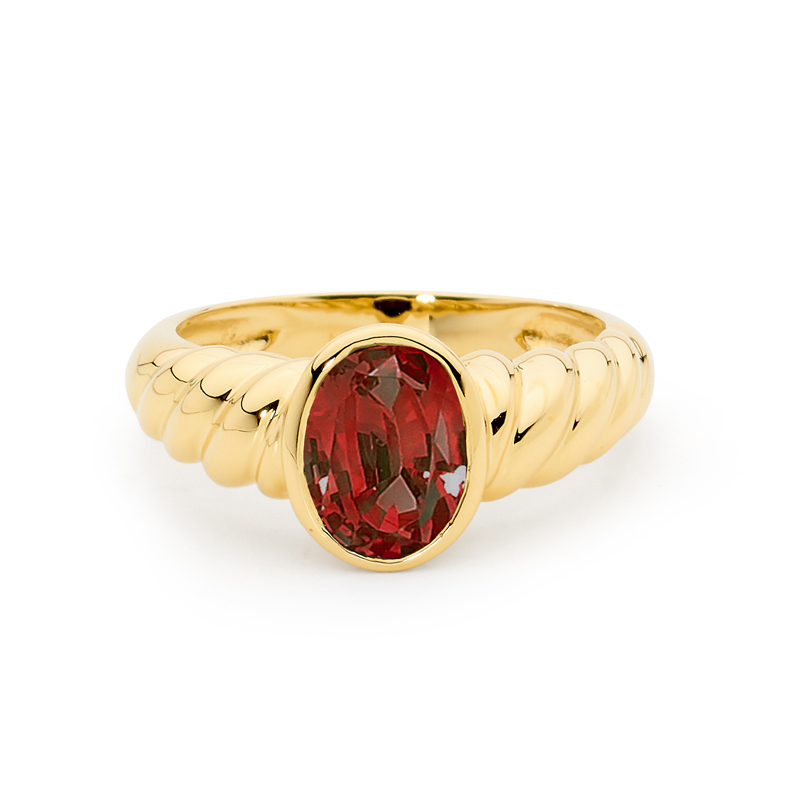Magnificent Garnet Dress Ring