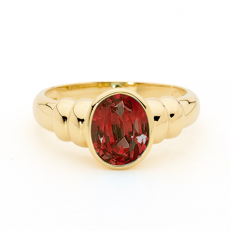 Gorgeous Garnet Dress Ring