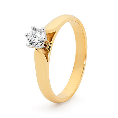Engagement Ring - 0.30 carat - Classic