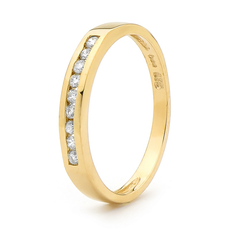 9 Diamond Eternity Ring