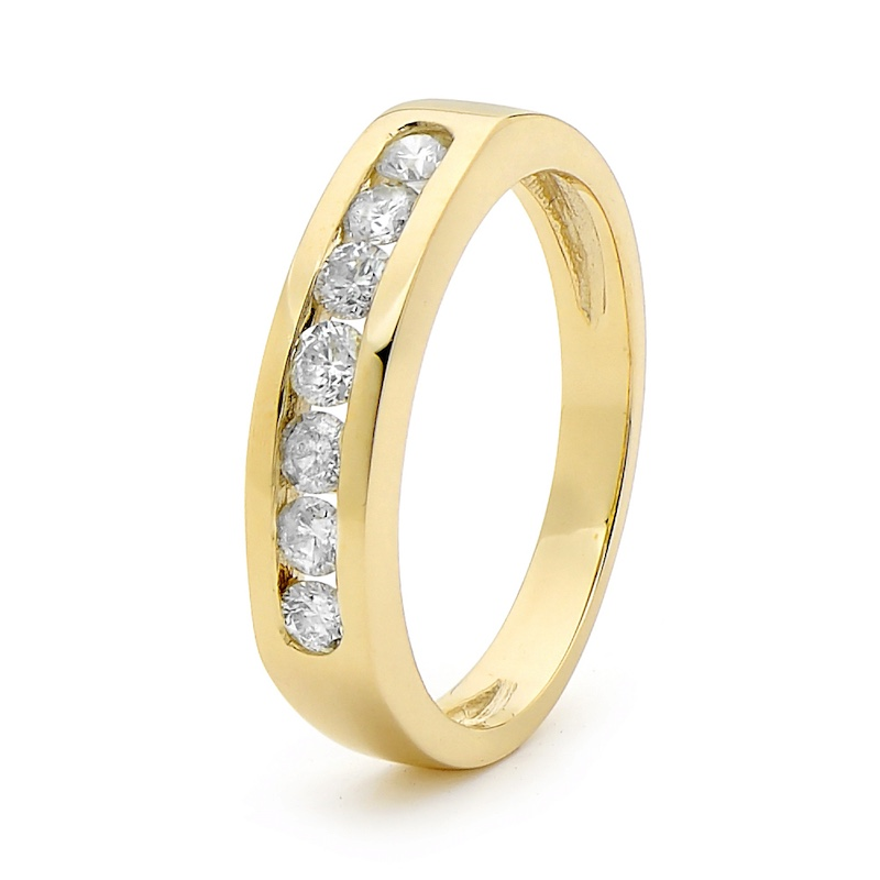 Diamond Eternity Ring - Half Carat (TDW)