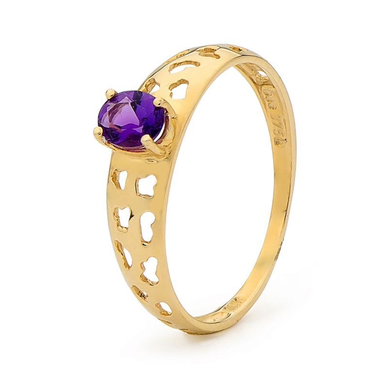 Amethyst Fun Ring
