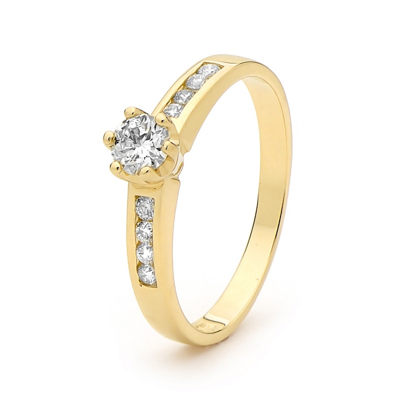 Engagement Ring - 0.46 Carat - June