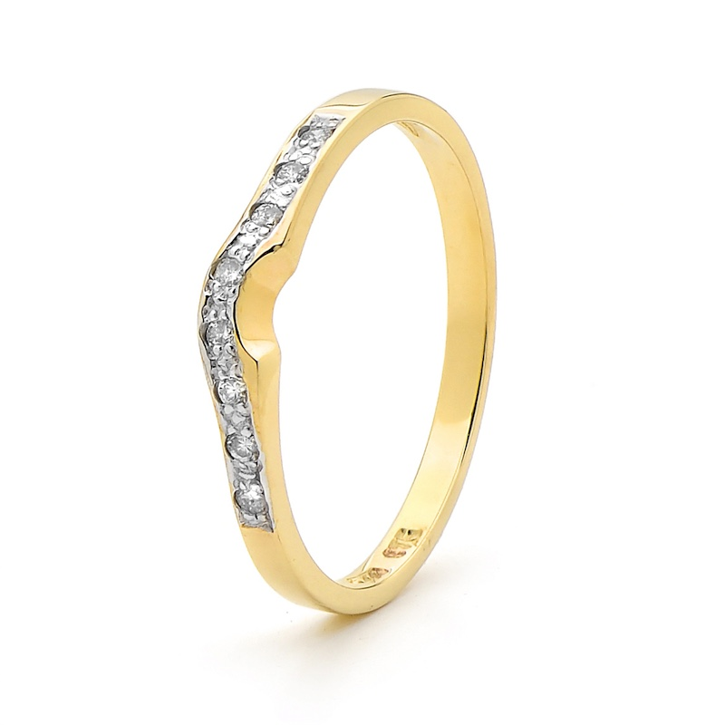Wedding Ring - Diamond Set - Dianne