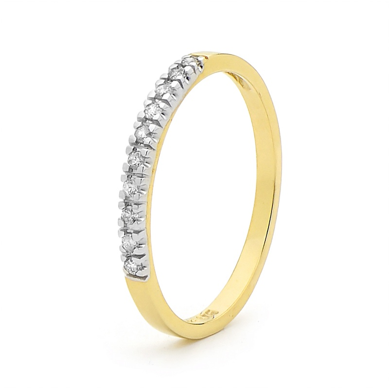 Rachel Eternity Ring - 0.1 Carat TDW