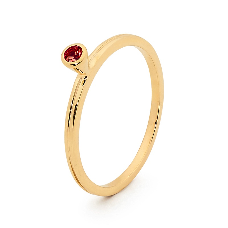 Stackable un Ring with Created Ruby