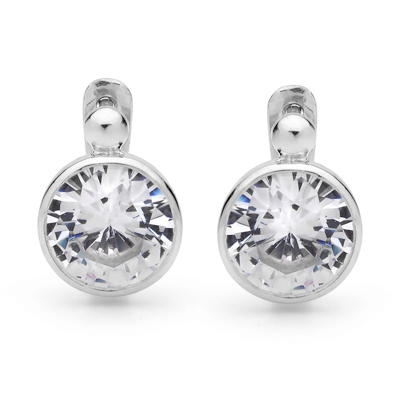 Big show Cubic Zirconia earrings