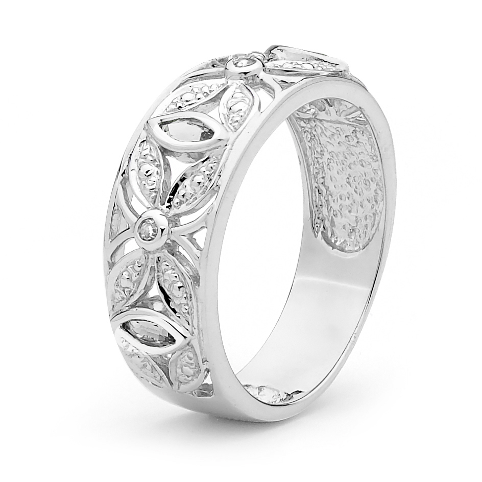 Sterling Silver Right Hand Ring