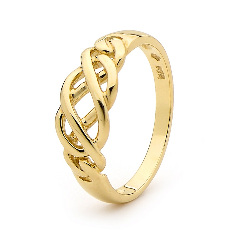 """Celtic Knot"" Gold Ring"