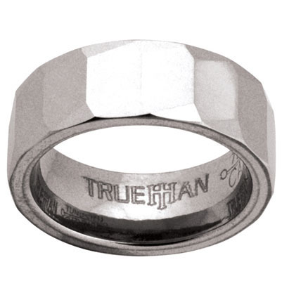 Mens Tungsten Ring - US Size 8