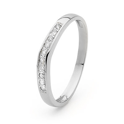 Whit Grace Wedding Ring - Platinum 950