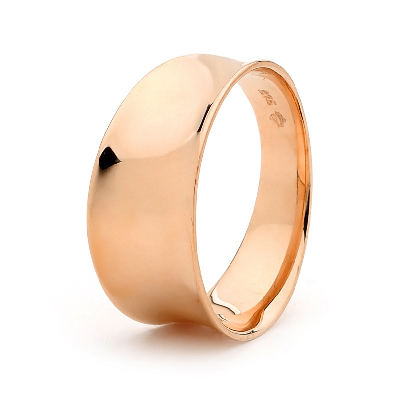 Gold Ring - Gipsy Style - Rose Gold