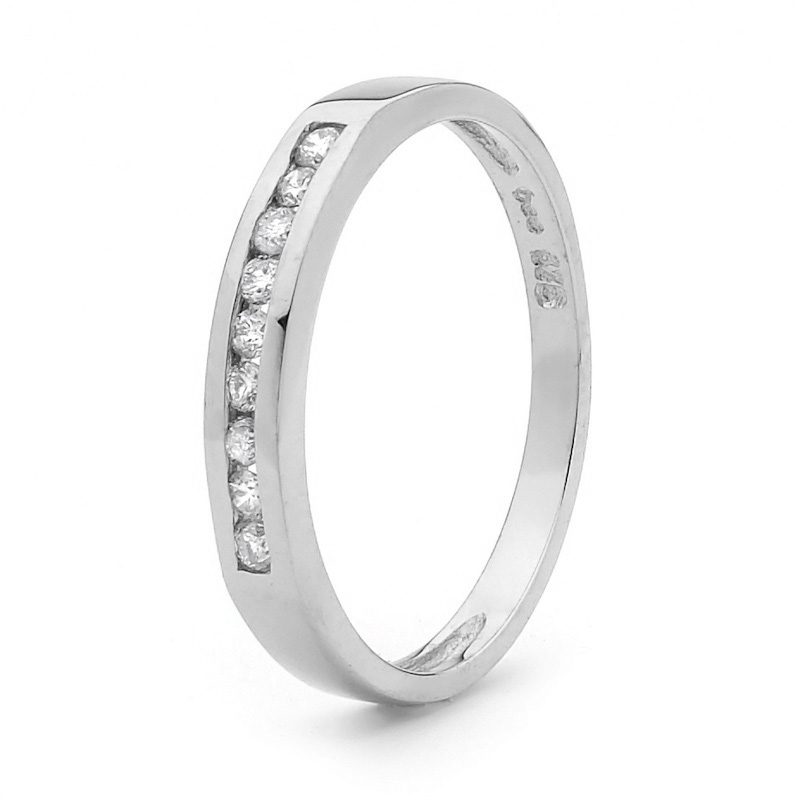 Anniversary Ring - Diamond Channel Setting