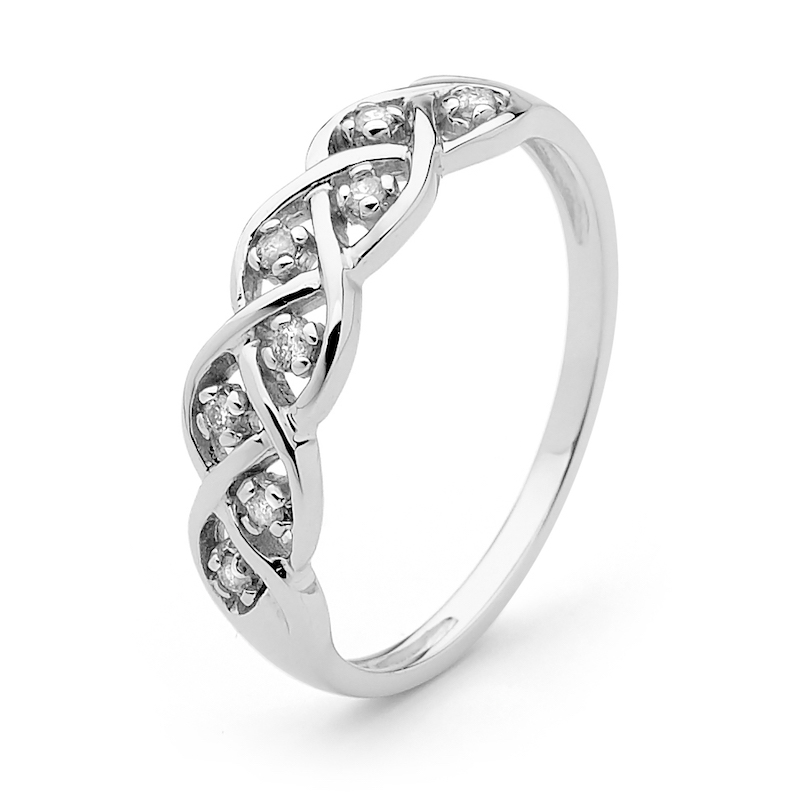 Diamond Ring - Dreamweaver - White Gold
