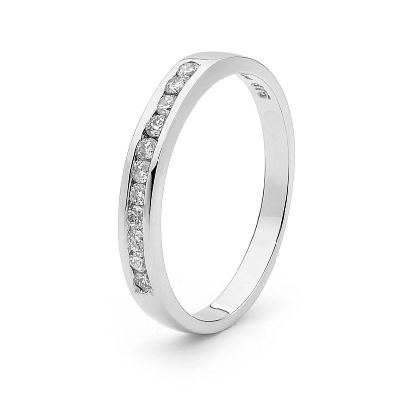 Anniversary Ring - 0.22 Carat Diamond - June