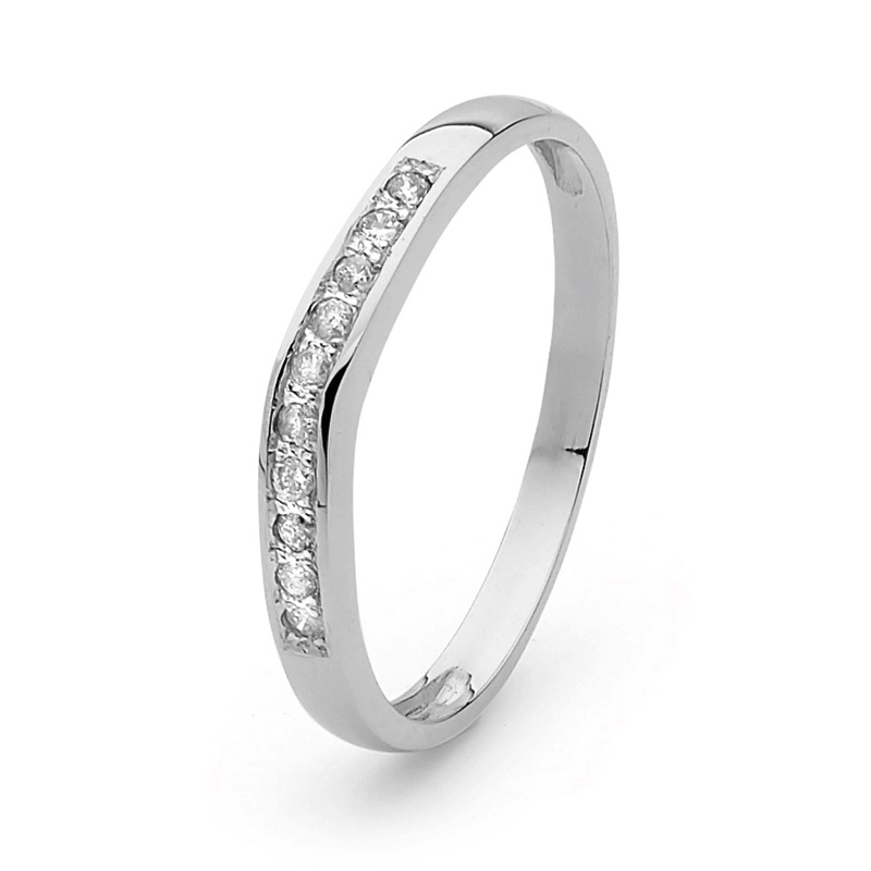 Wedding Ring - White Gold - Grace