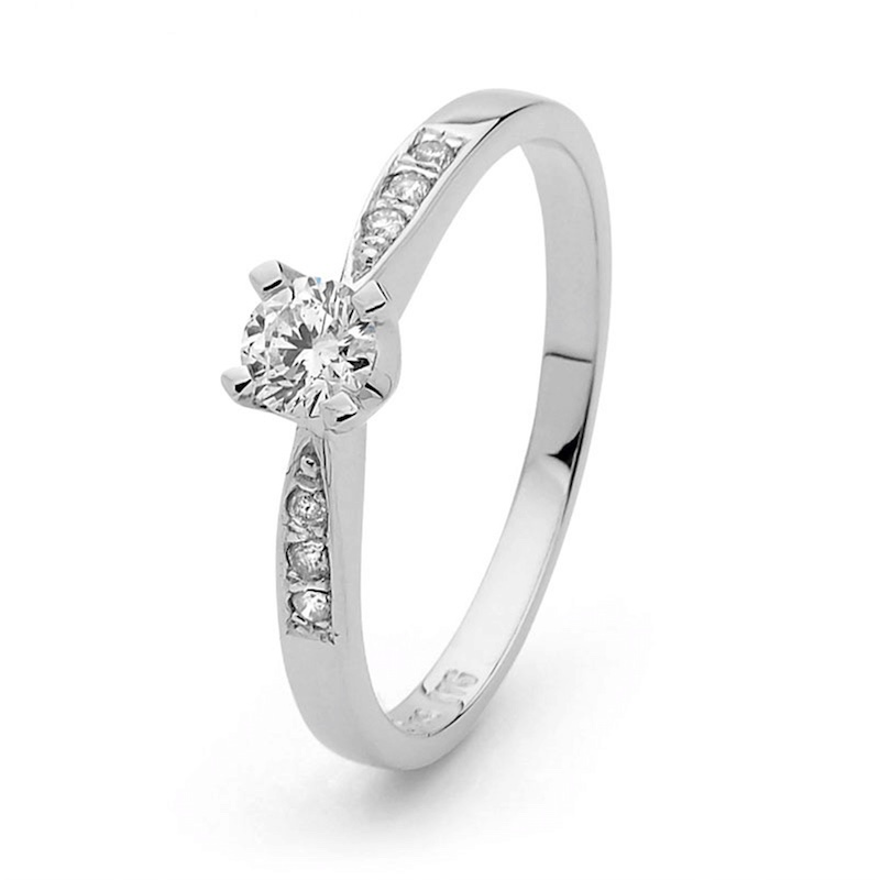 Engagement Ring  0.30ct Diamond Grace
