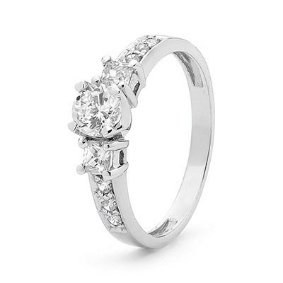 Cubic Zirconia Ring - Engagement