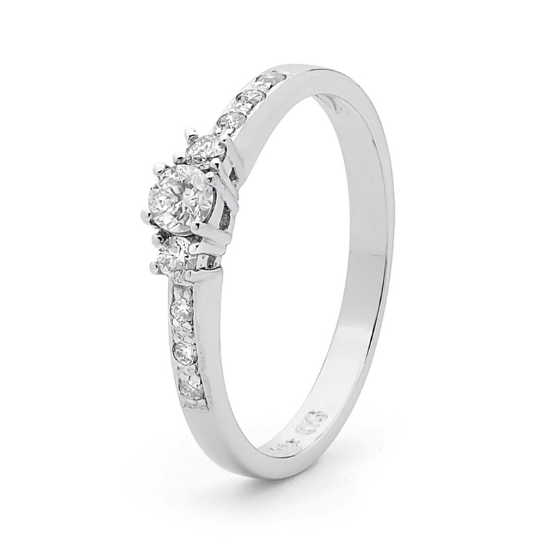 Engagement Ring 1/4ct Diamond  Jen