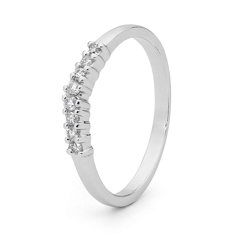 Anniversary Ring - 0.16 Carat Diamond