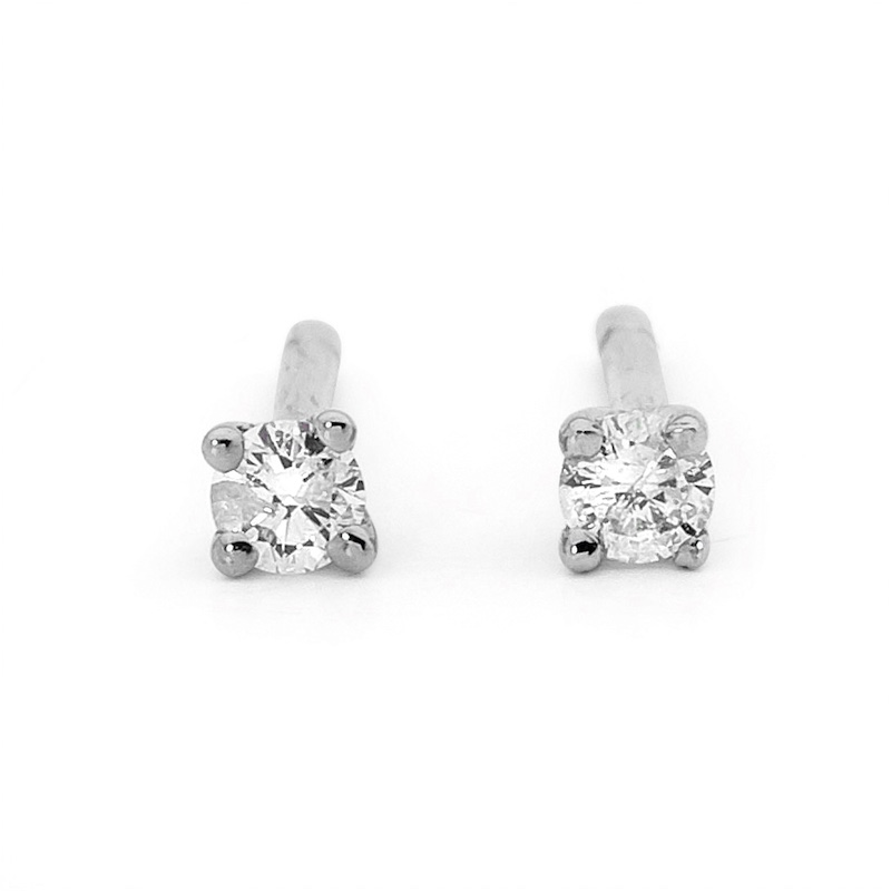Diamond Studs - Claw Set - TDW 0.20 Carat