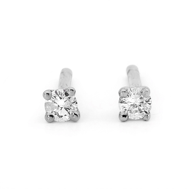 Diamond Studs White Gold - TDW 0.4 Carat