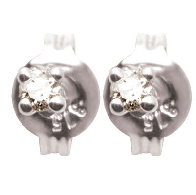 Diamond Stud Earrings - 0.08 Carat (TDW)