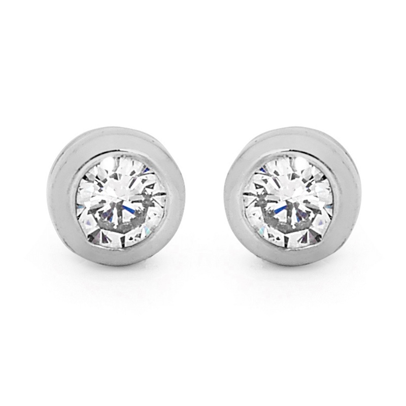 Diamond Stud Earrings - 0.40 Carat (TDW)