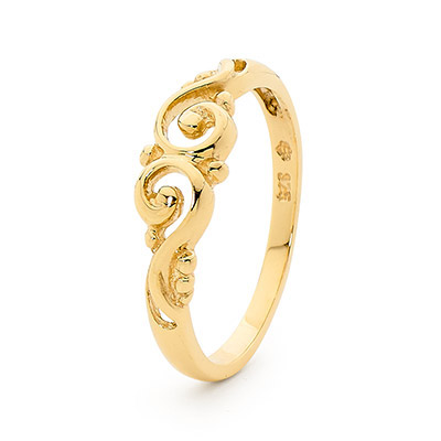 Gold Ring - Colliding Waves