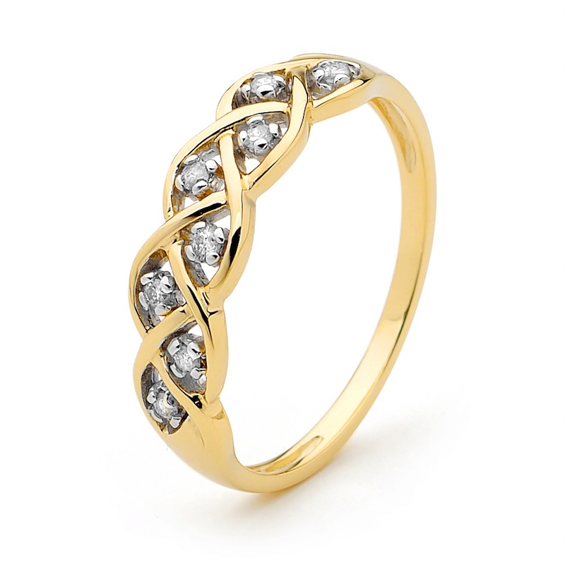 Dreamweaver Ring with Diamonds