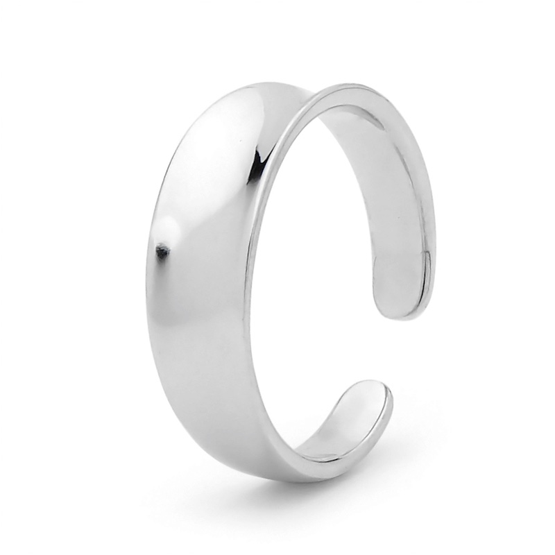 Smooth Sterling Silver Toe Ring