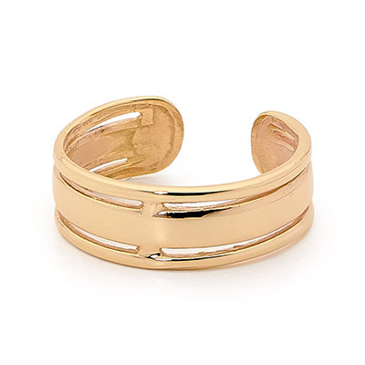 Fashionable Gold Toe Ring