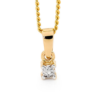 Diamond Pendant 0.005 Carat
